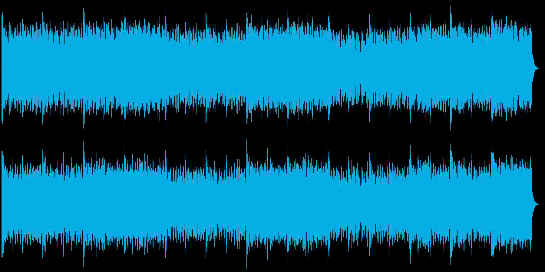 勢いとスピード感あるユーロビートサウンドの再生済みの波形