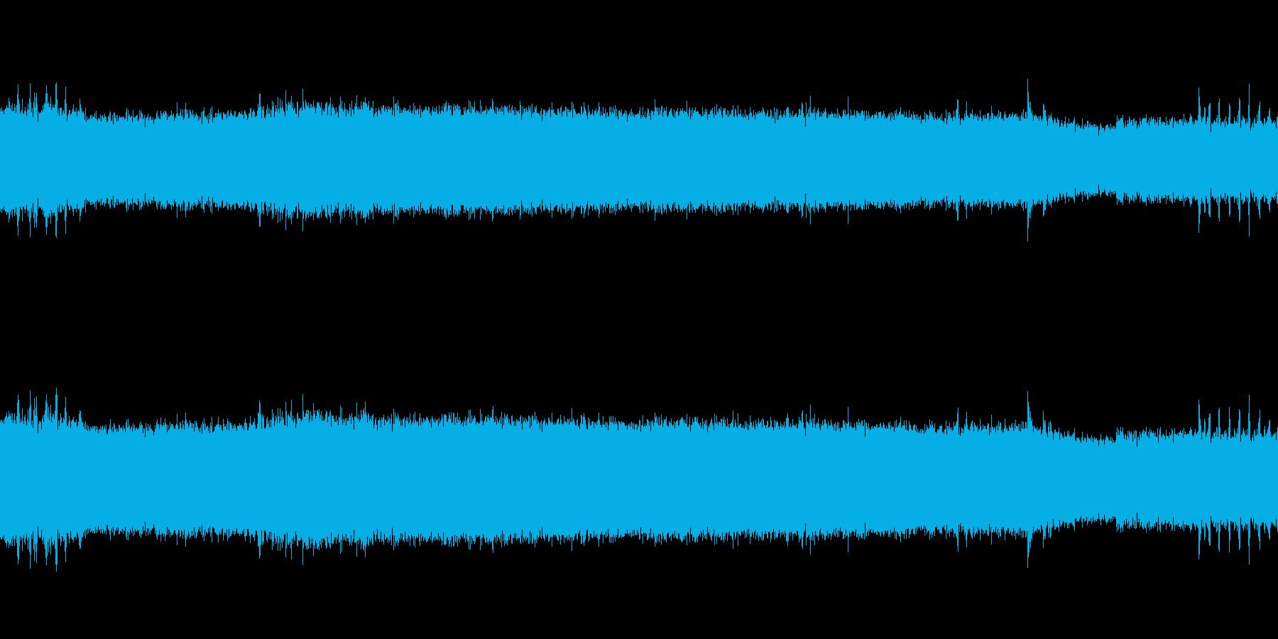 【生音】 電車 - 走行音 - 02の再生済みの波形