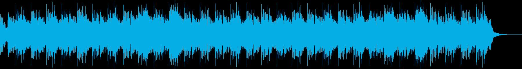 ホラー/SF映画風オーケストラBGMの再生済みの波形