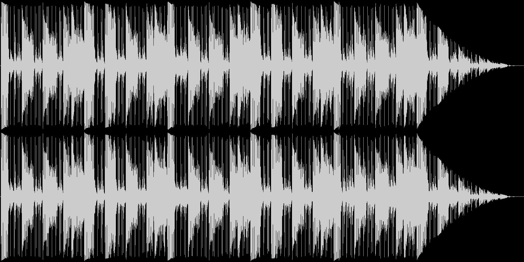 明るいループ曲。の未再生の波形