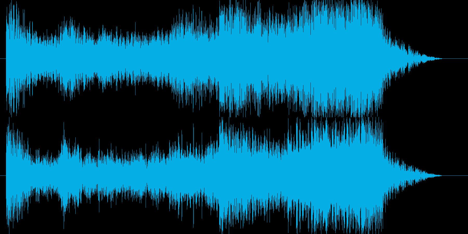 緊迫ムード時〜アンビエントの再生済みの波形