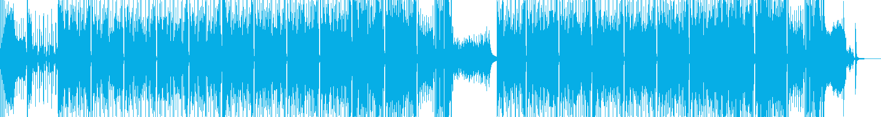 わいわい騒いでいるようなブラスR&Bの再生済みの波形