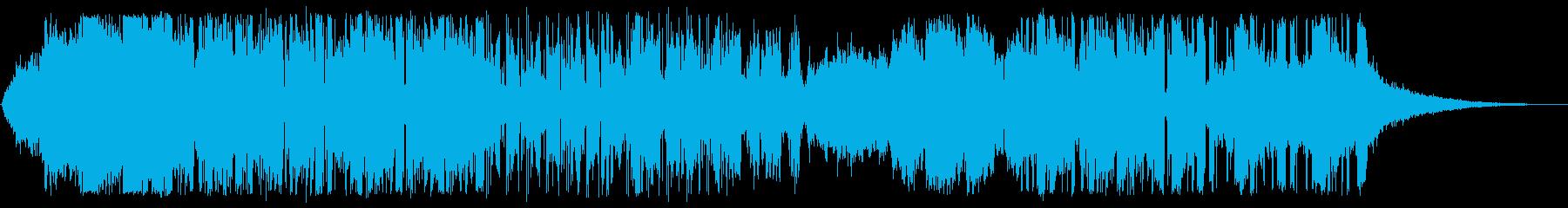 深く美しいエレクトロニカの再生済みの波形