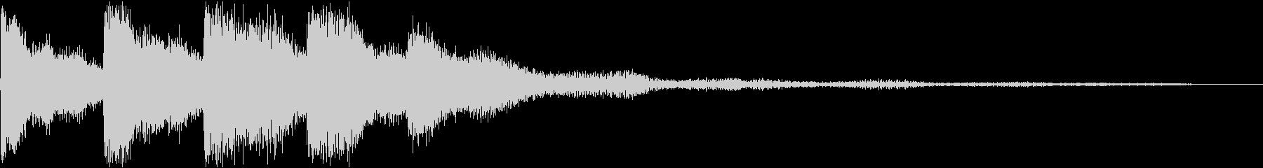ピロリロ(決定音・ボタン音)の未再生の波形
