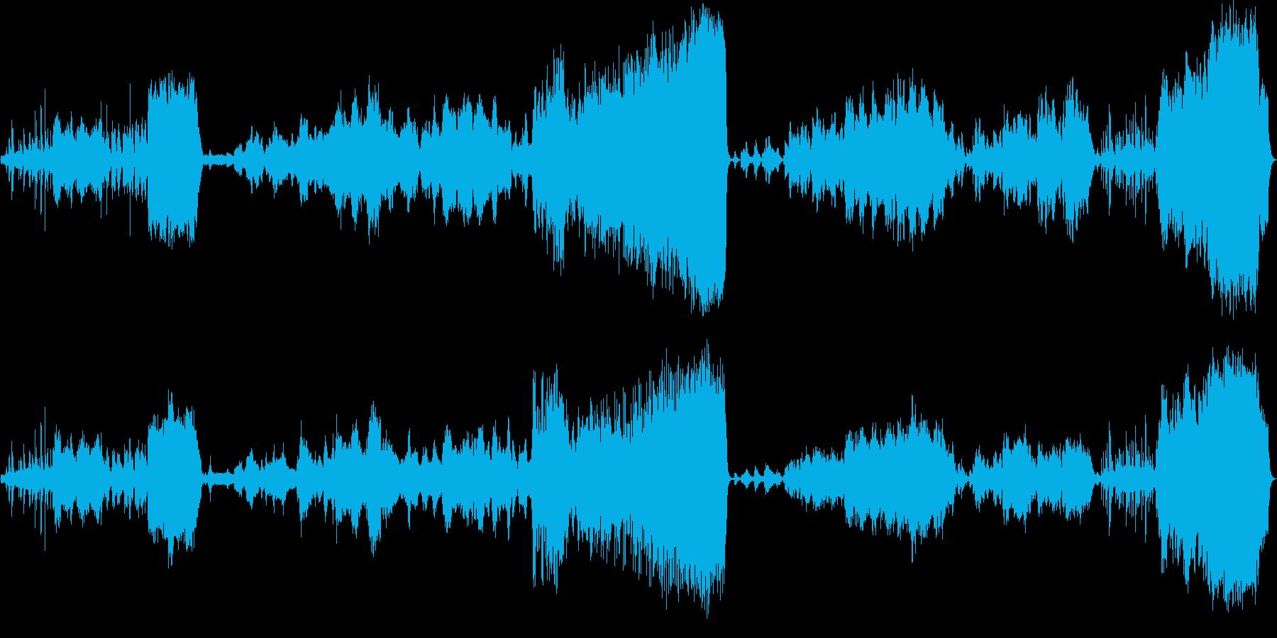 童話の世界をイメージした音楽の再生済みの波形