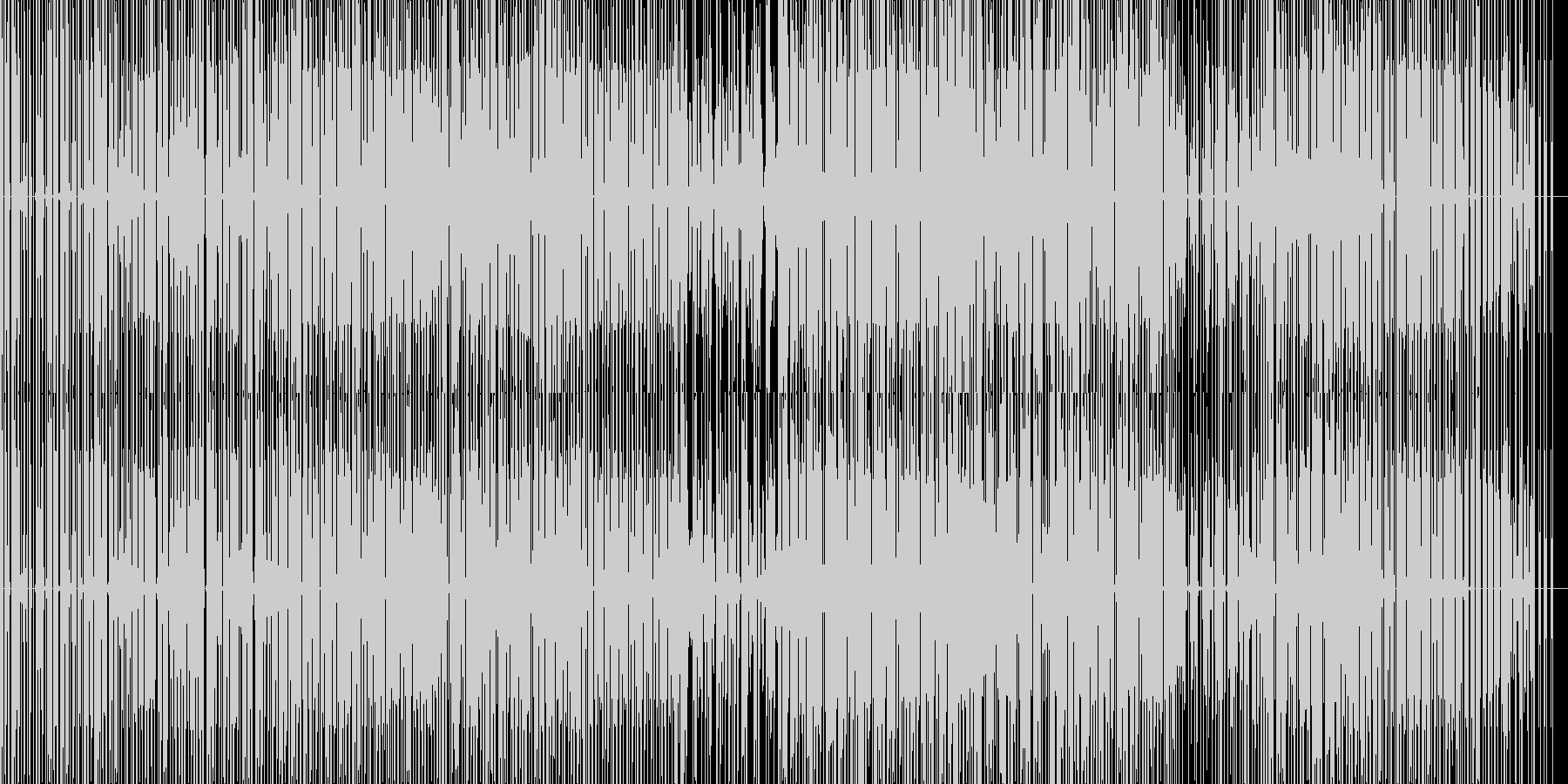 エレクトロニカbreakbeatsの未再生の波形