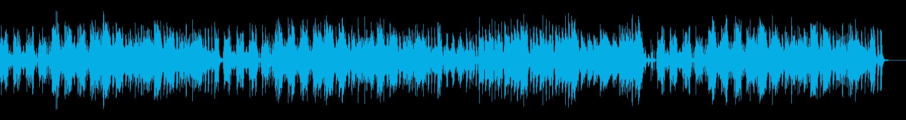 子犬と散歩 のんびりほのぼのポップスの再生済みの波形