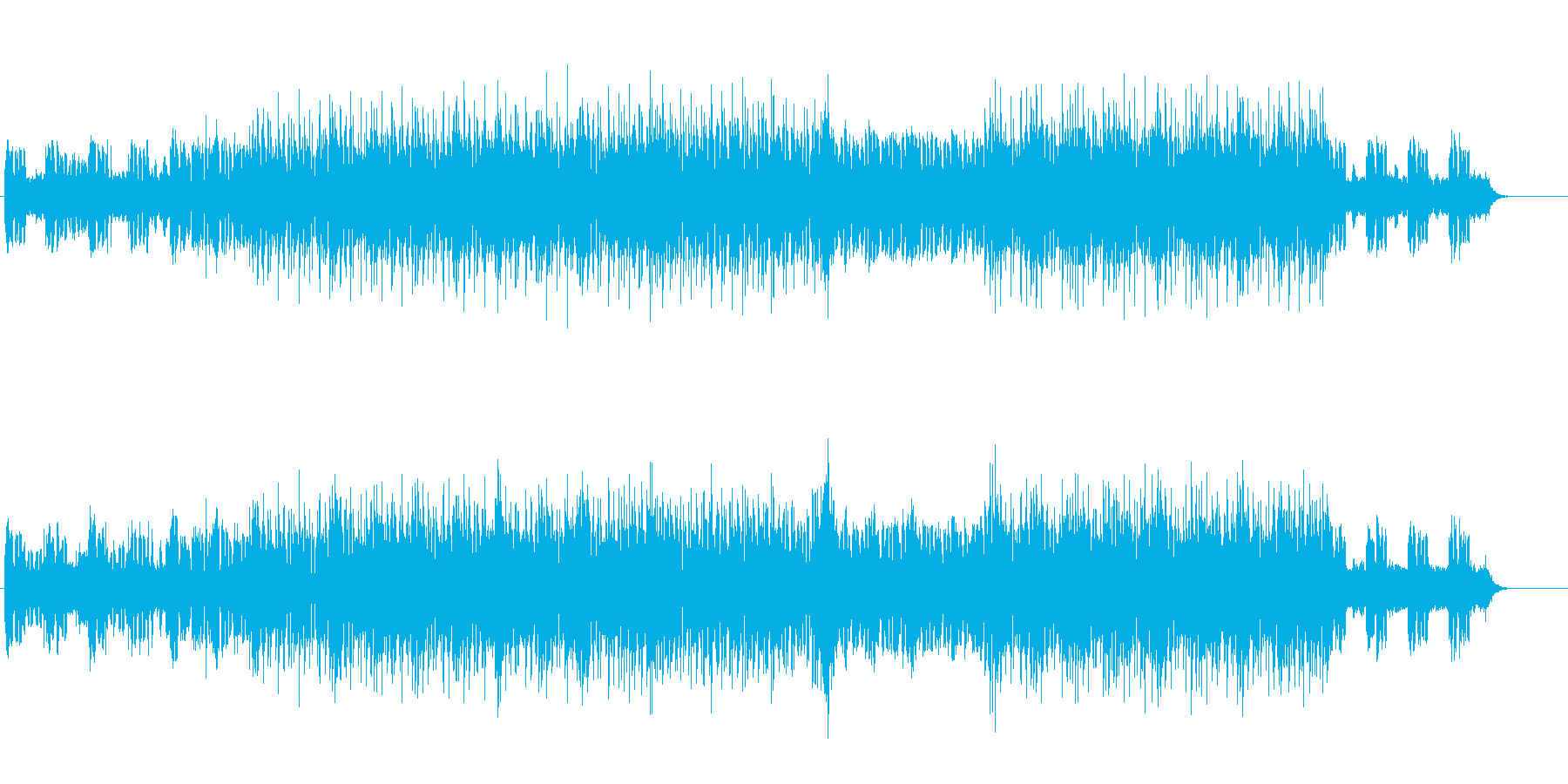 アシッド感覚のエレクトリック・ソウルの再生済みの波形