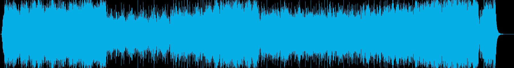 感動的でテンポが気持ちいい現代クラシックの再生済みの波形