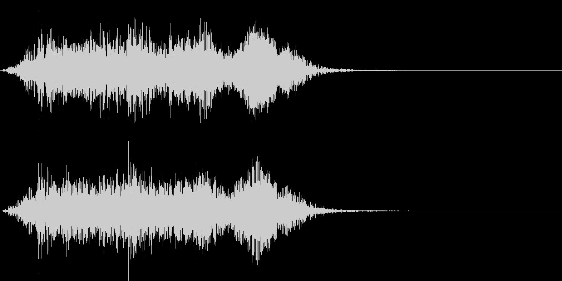 象の鳴き声1 パオーンの未再生の波形