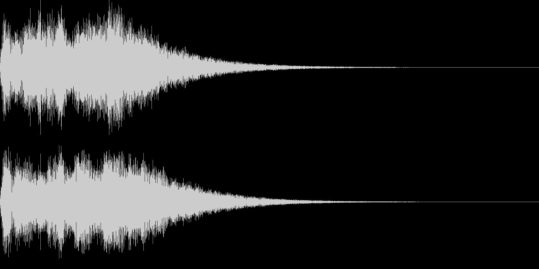 サウンドロゴ07の未再生の波形