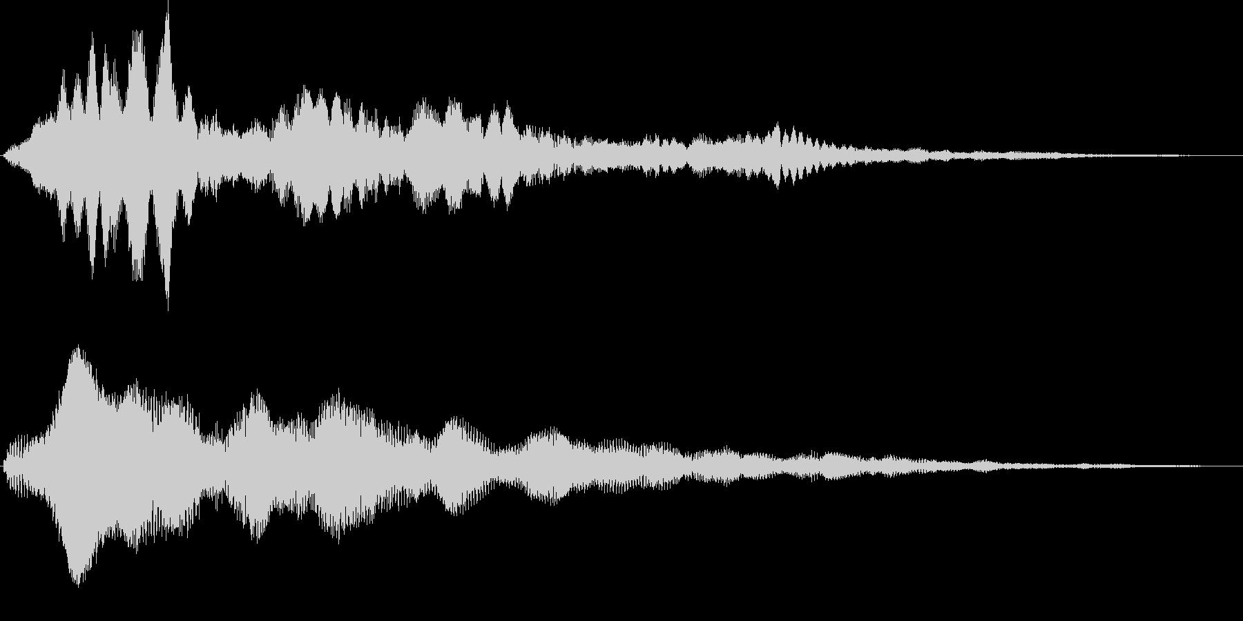 キラリラーン キラキラ系サウンドロゴの未再生の波形