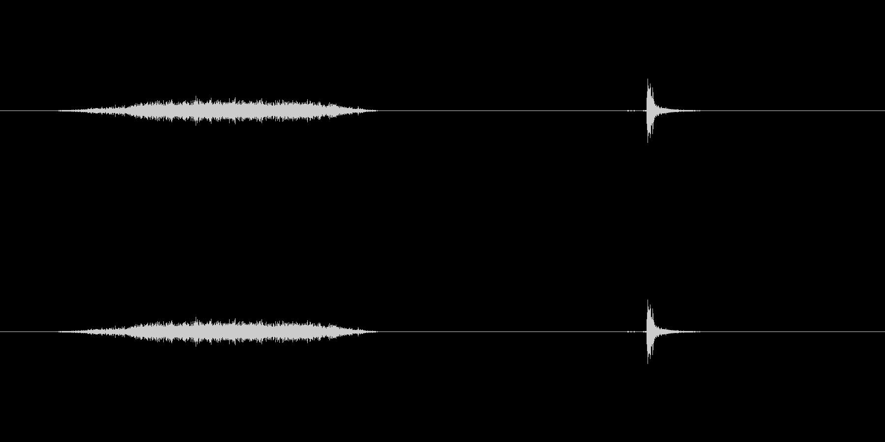 【マスキングテープ01-2(引く・切る)の未再生の波形