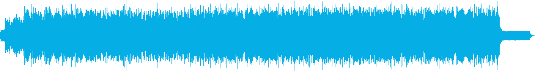 爽やかで華麗なAmbienteロックの再生済みの波形