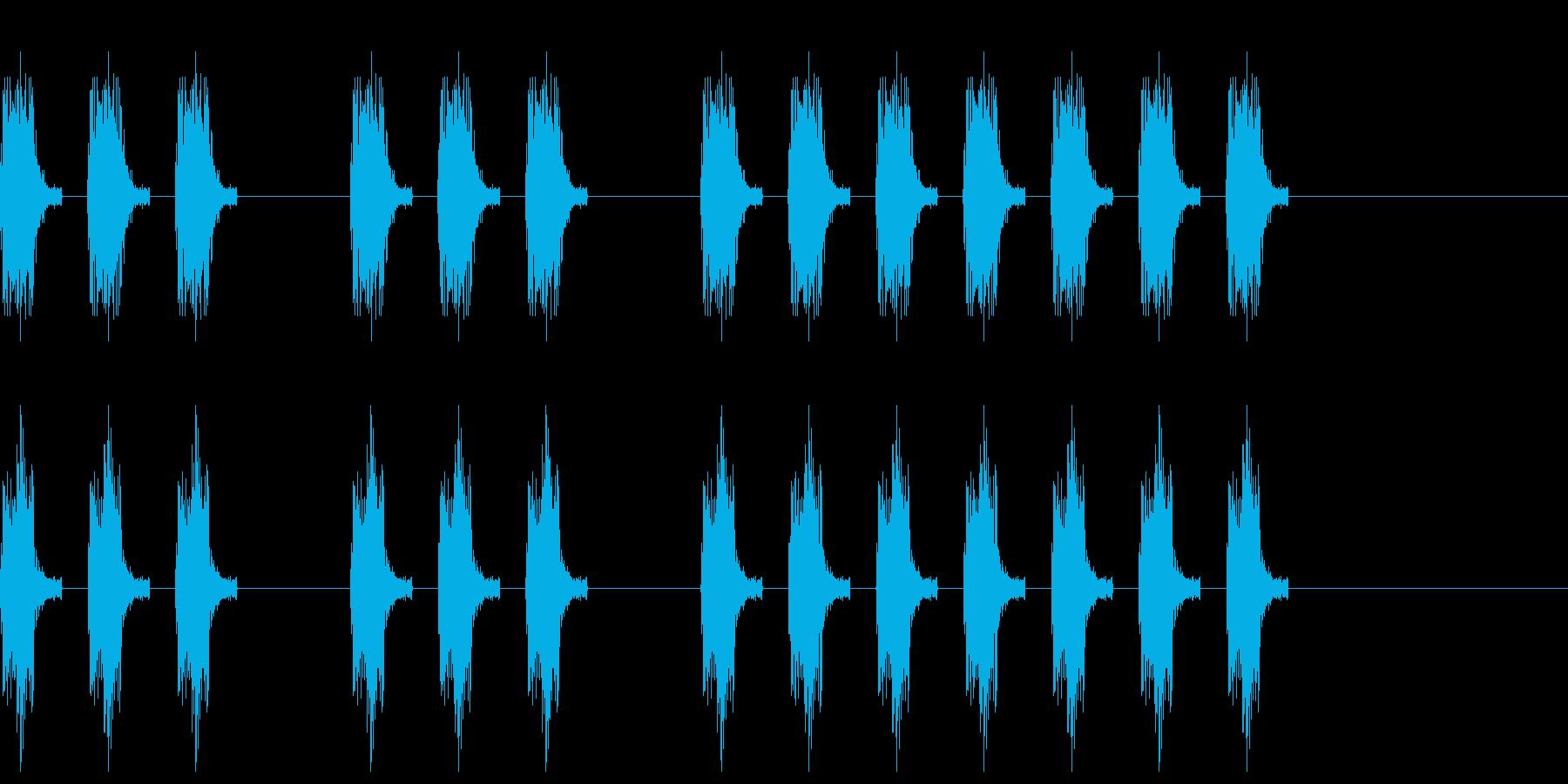 三三七拍子 その8の再生済みの波形