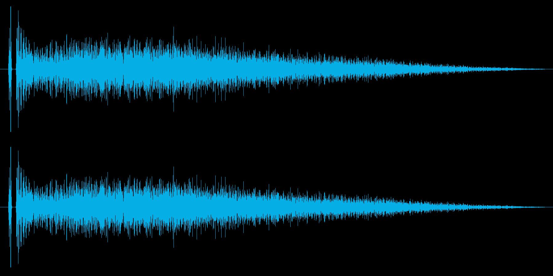 【チャイナシンバル6】中国風な演出に最適の再生済みの波形