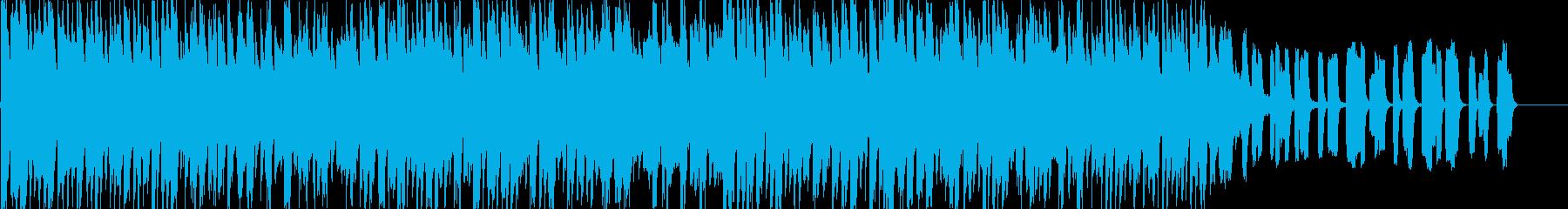 RPG等の戦闘勝利後のジングルの再生済みの波形