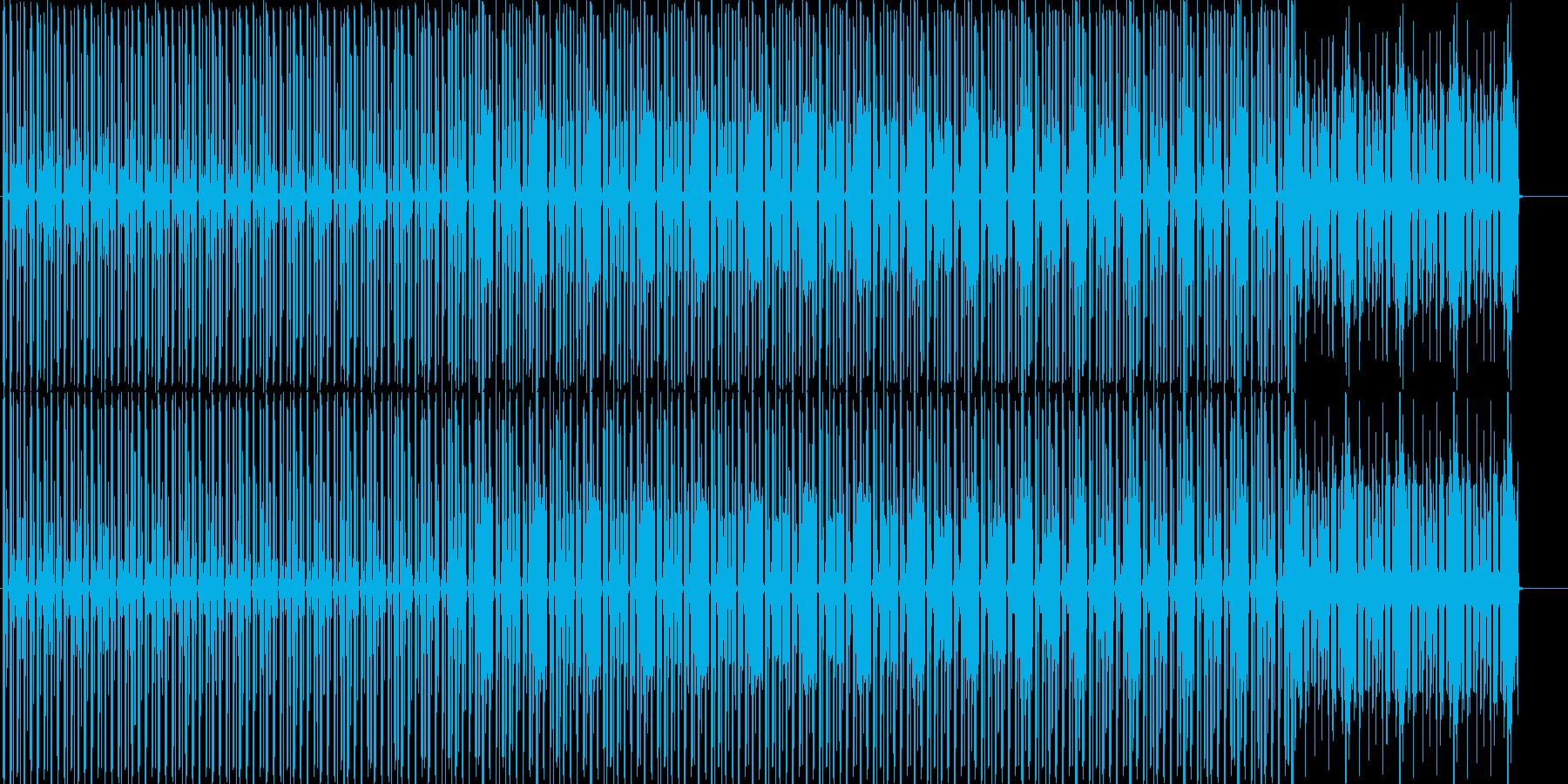アニメや映像系に合いそうなテックハウスの再生済みの波形
