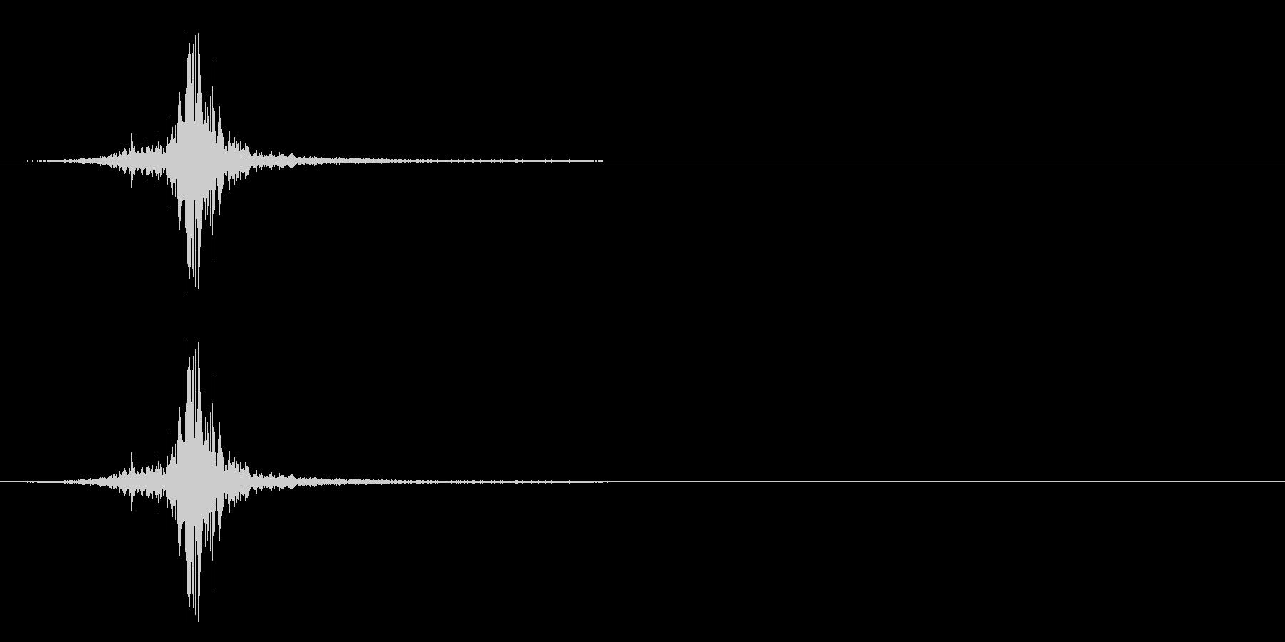 シルク・ナイロン・広げる2の未再生の波形