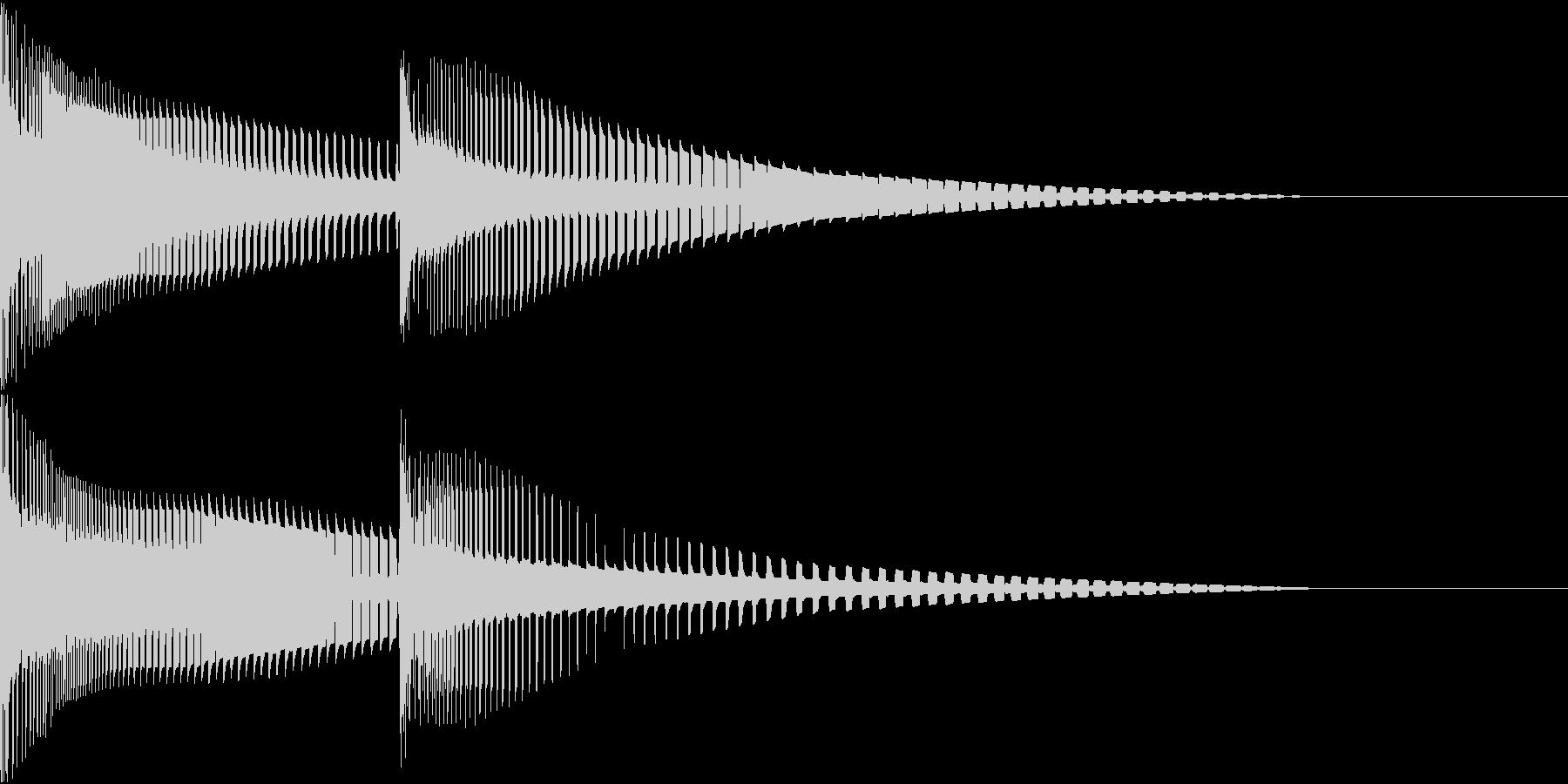 Henteko 可愛いクラッシュ音 4の未再生の波形
