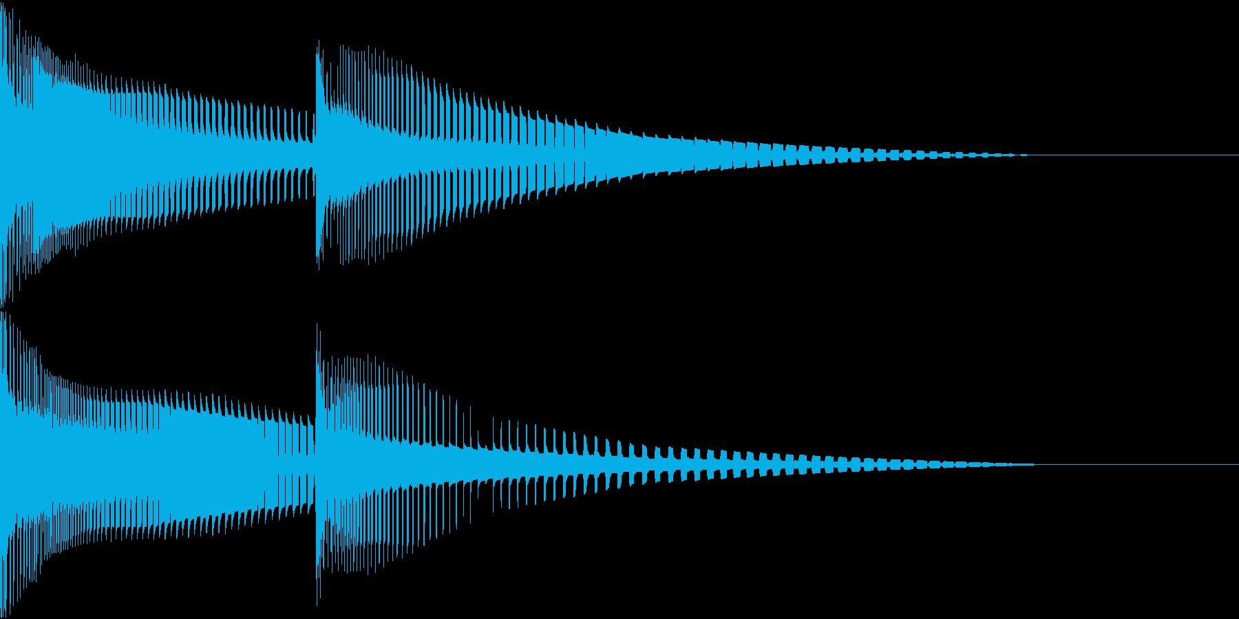 Henteko 可愛いクラッシュ音 4の再生済みの波形