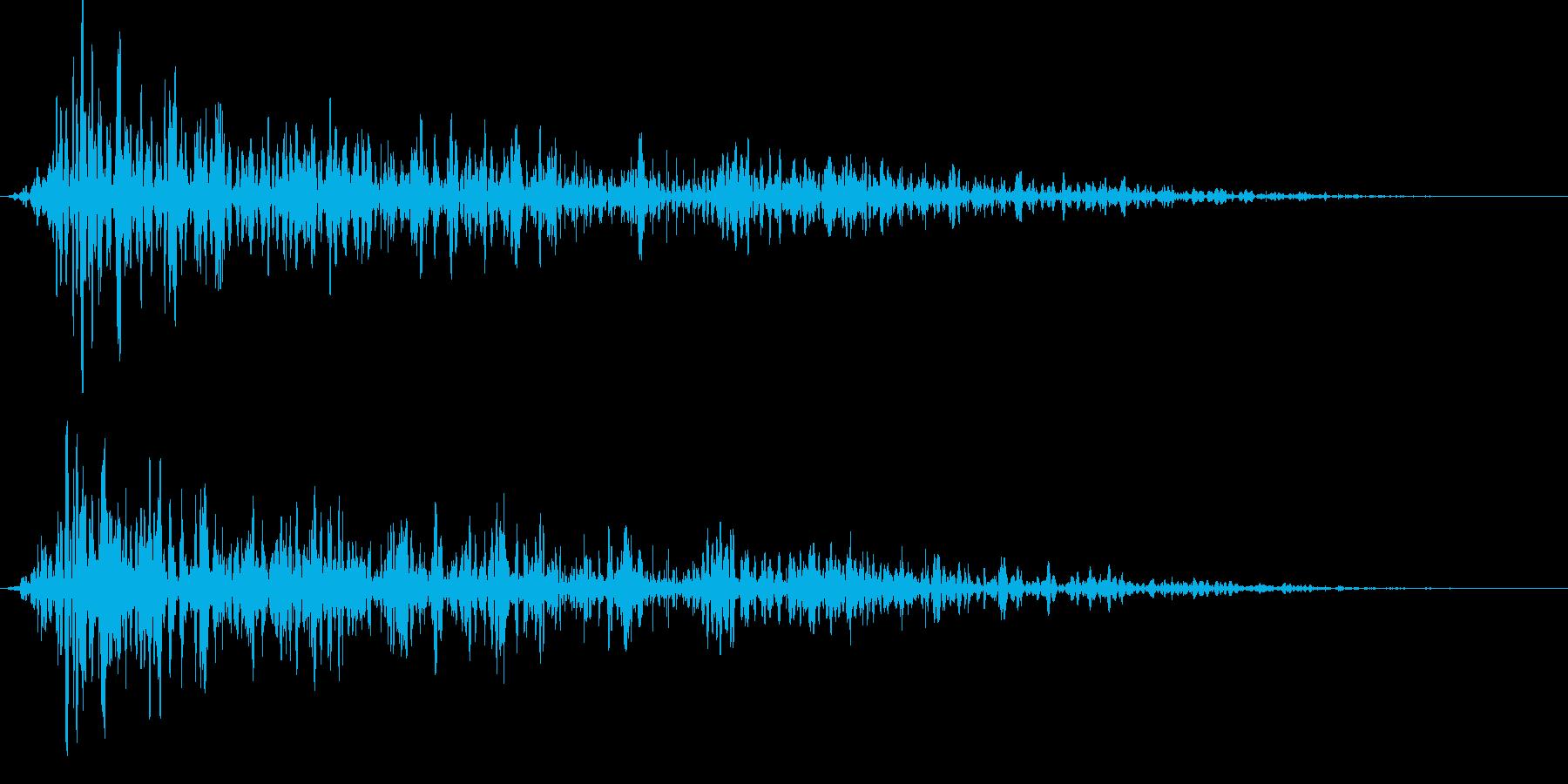 ボゥ。炎・燃える音A(短)の再生済みの波形