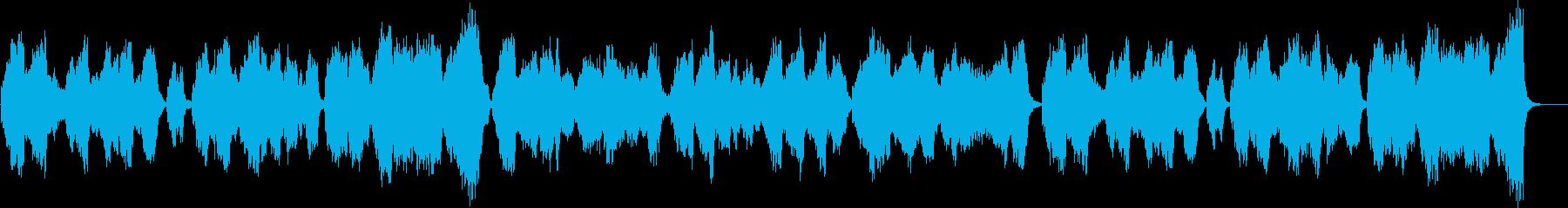 バロック風ストリングクアルテット静かな曲の再生済みの波形