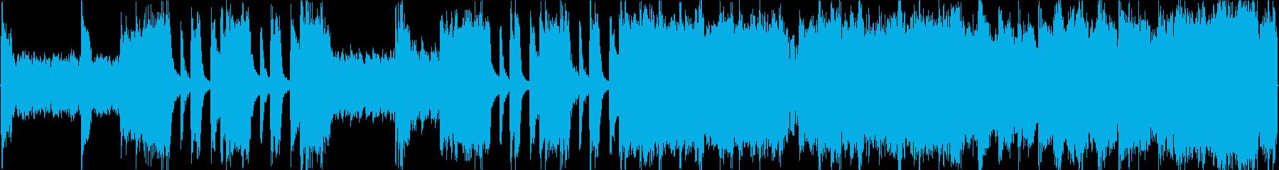 前半のブレイクとシンセのフレーズで緊迫…の再生済みの波形