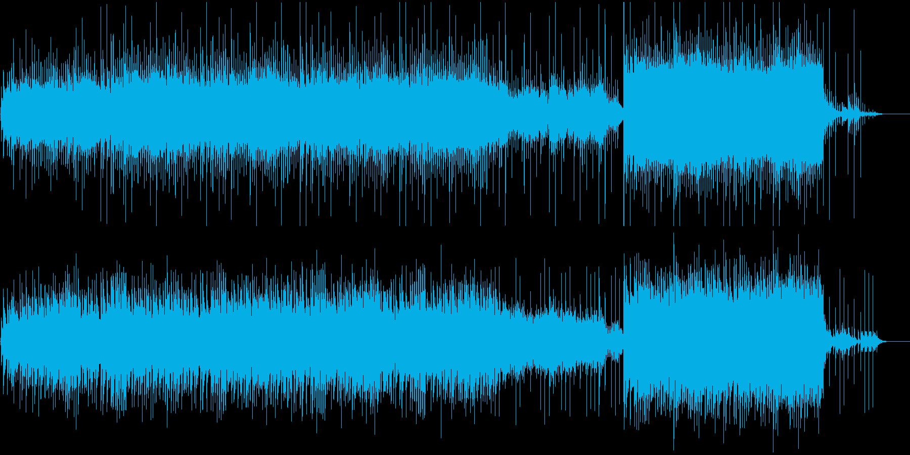 ピアノ癒しヒーリング水を連想させる透明度の再生済みの波形