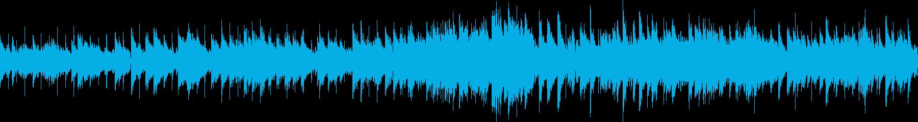 ジャズ調のバラードBGM (ループ仕様)の再生済みの波形