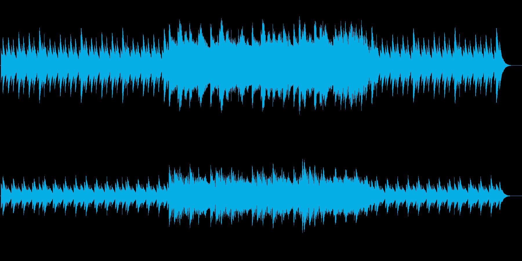 3幻想的な夜の風景 プラネタリウムに最適の再生済みの波形
