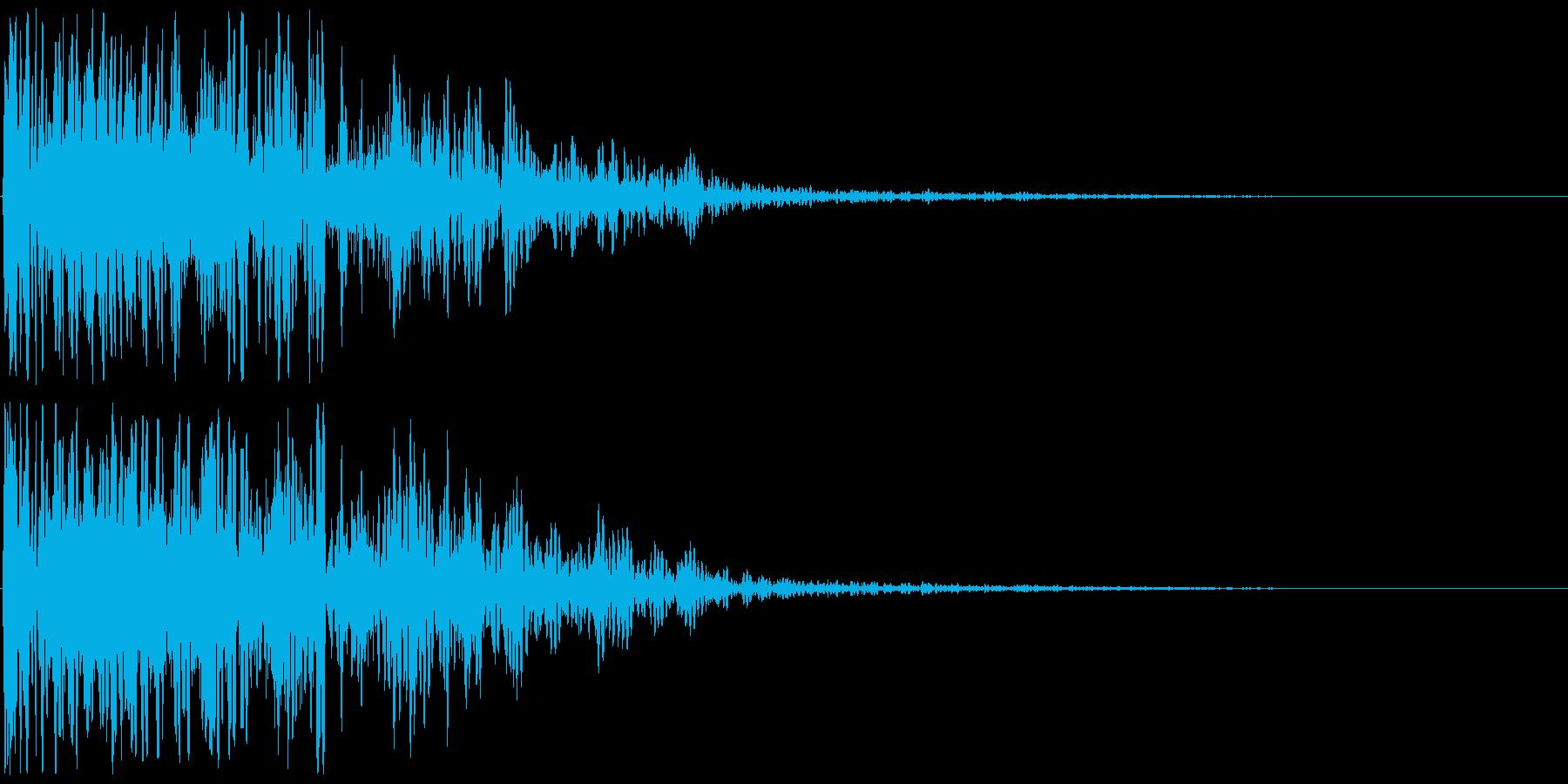 爆発音・大砲4の再生済みの波形