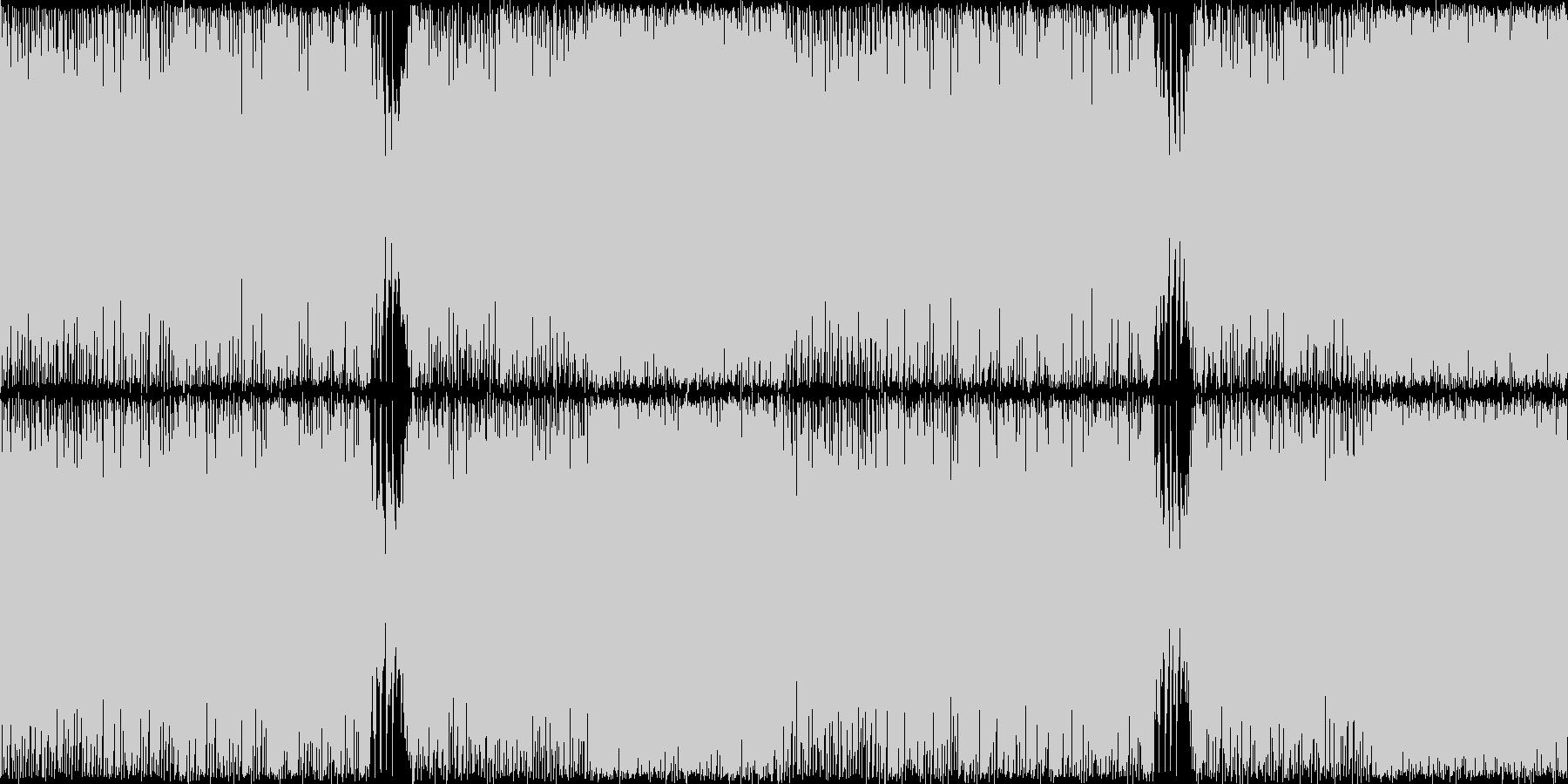 ジュリアナ系ハイパーテクノレイブ神秘的2の未再生の波形