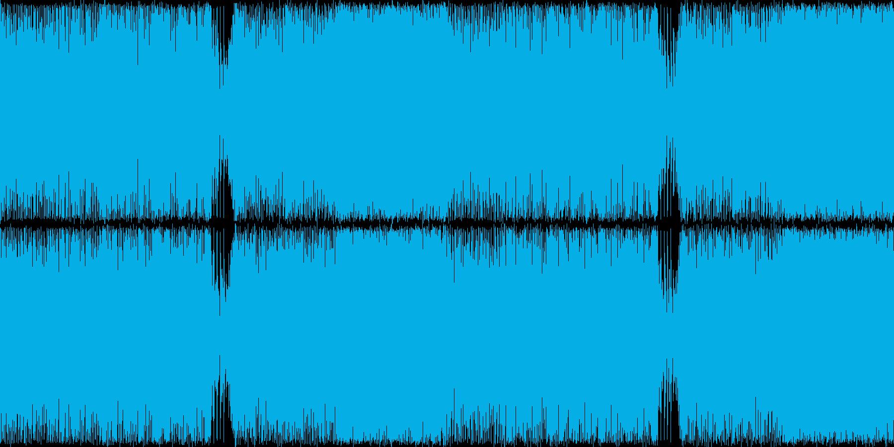 ジュリアナ系ハイパーテクノレイブ神秘的2の再生済みの波形