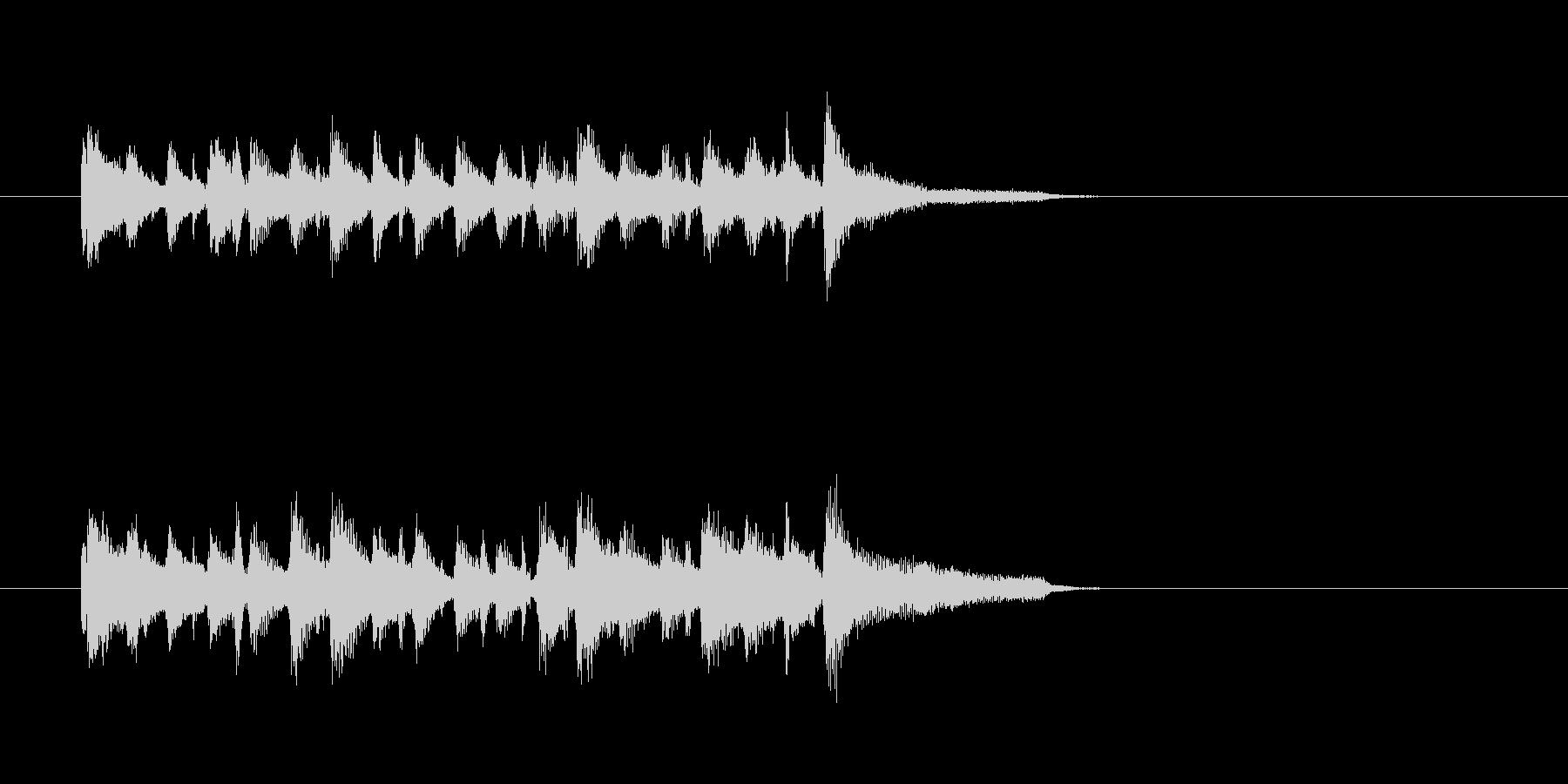 アコーディオン バンドネオン ジャズの未再生の波形