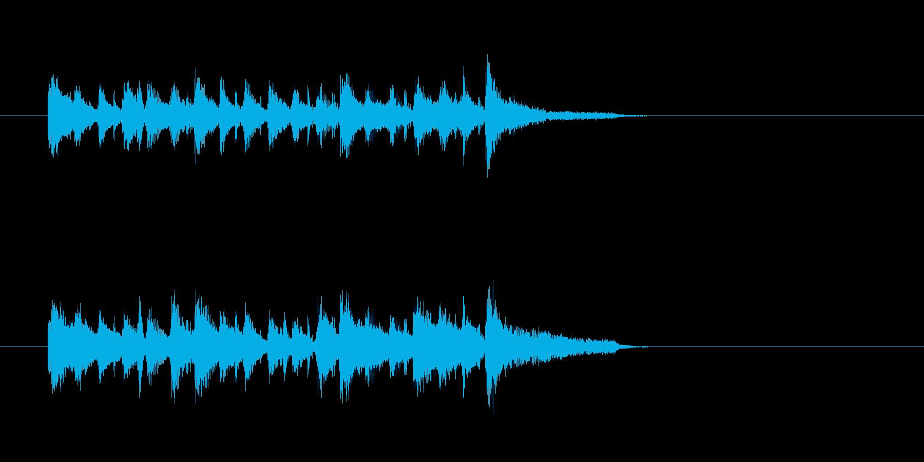 アコーディオン バンドネオン ジャズの再生済みの波形