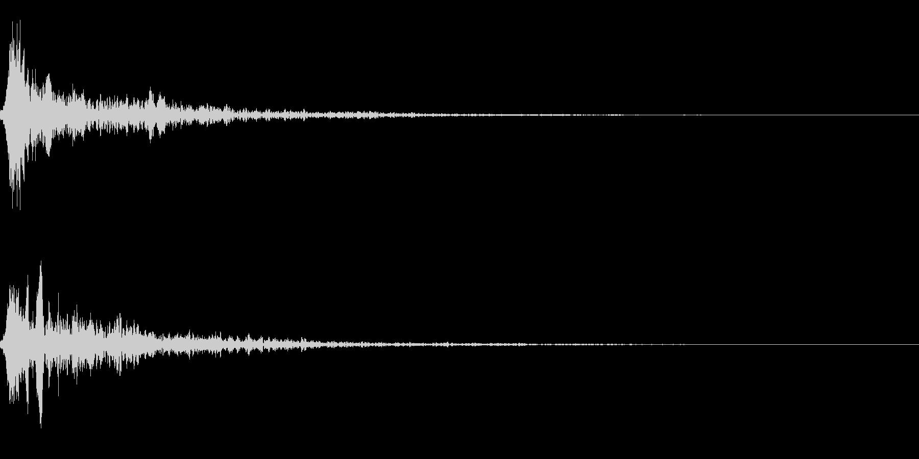 SF エネルギー系の発射音01の未再生の波形