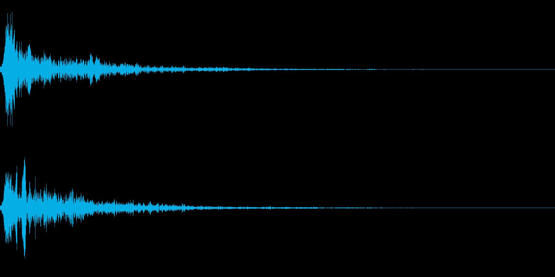 SF エネルギー系の発射音01の再生済みの波形