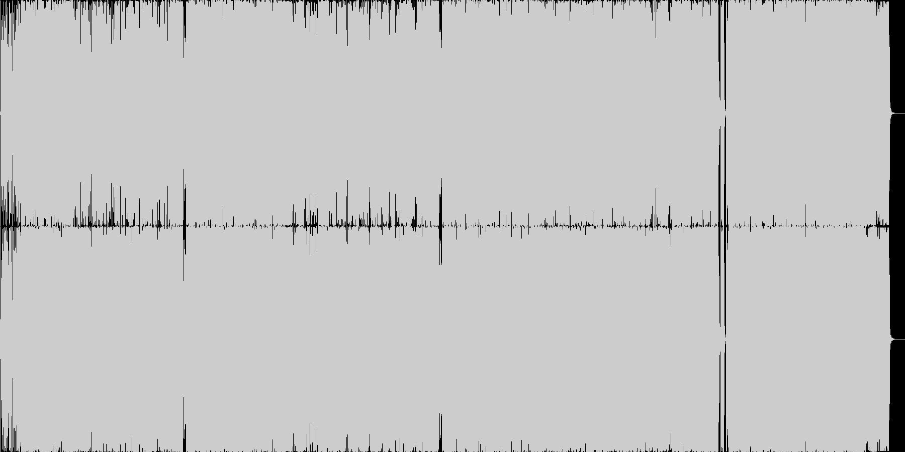 """疾走感溢れる""""銭と夢""""のネタガチ系ロックの未再生の波形"""
