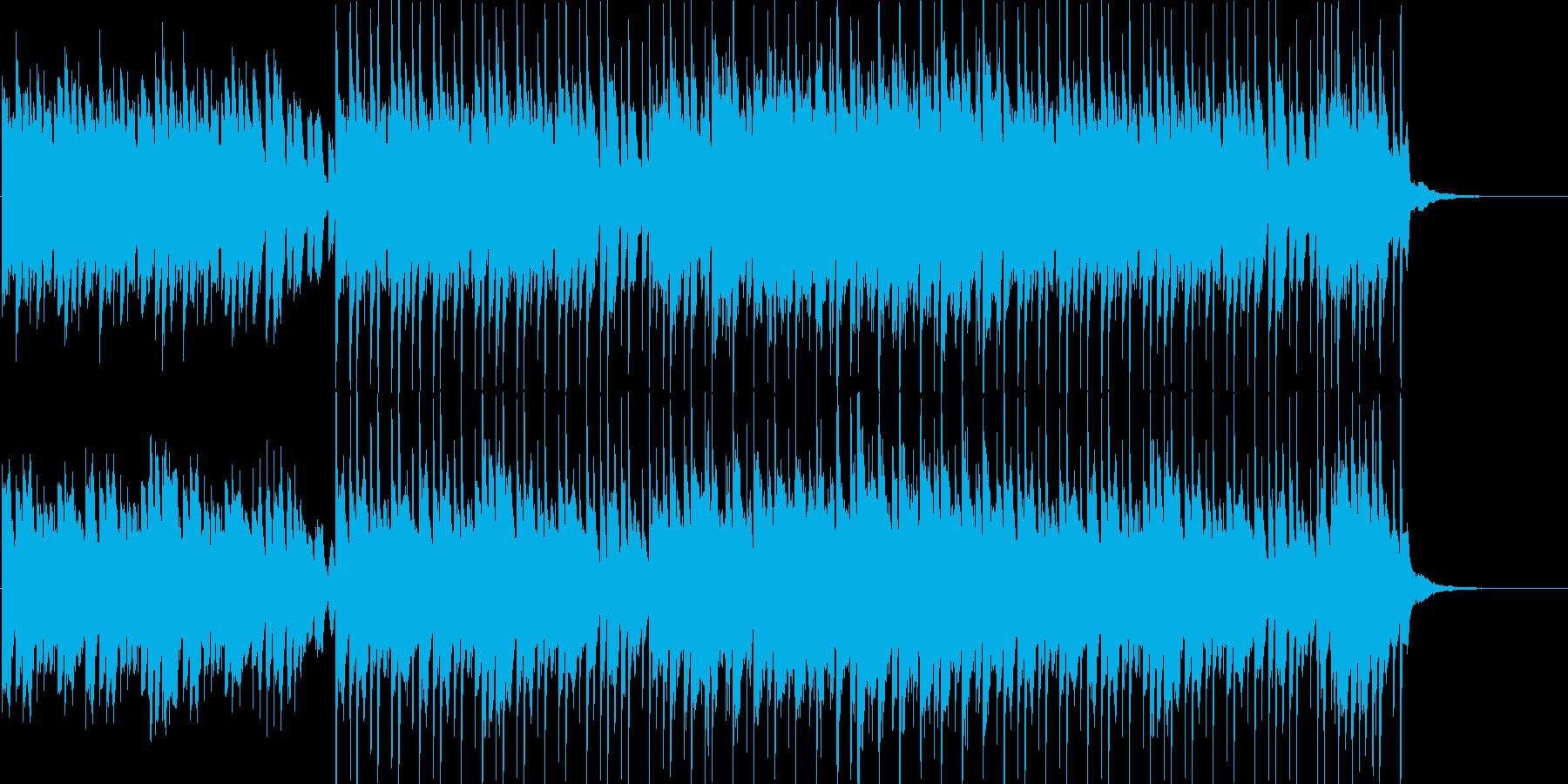 幼さ漂うワルツの再生済みの波形