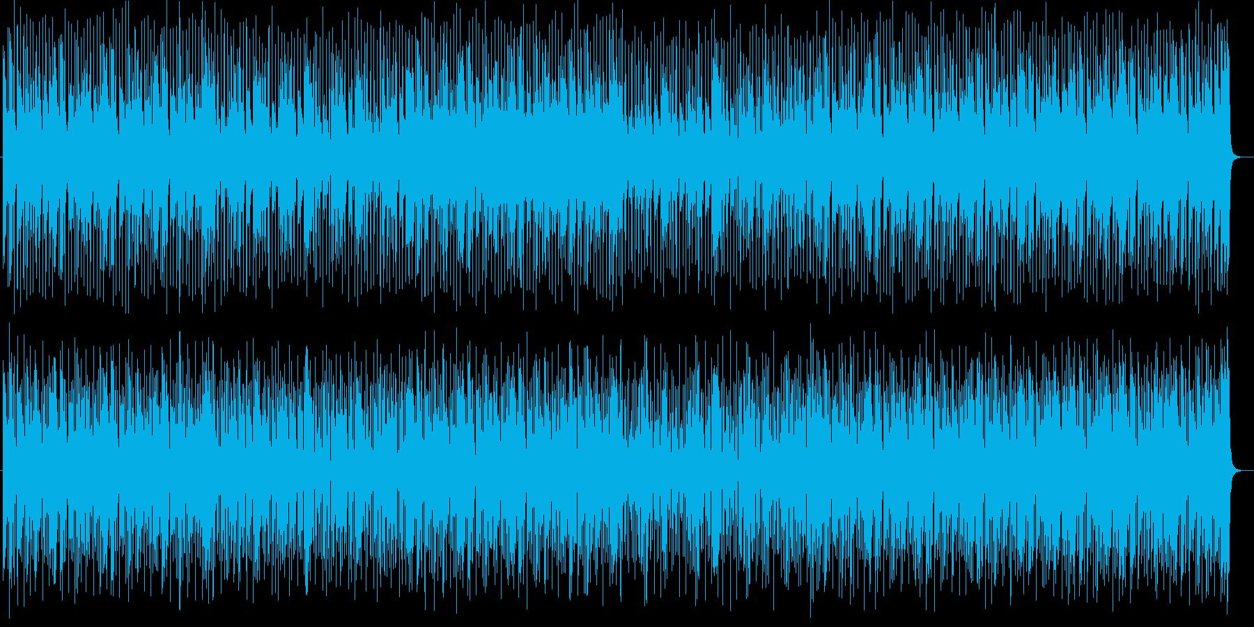 明るくトロピカルなシンセサイザーサウンドの再生済みの波形