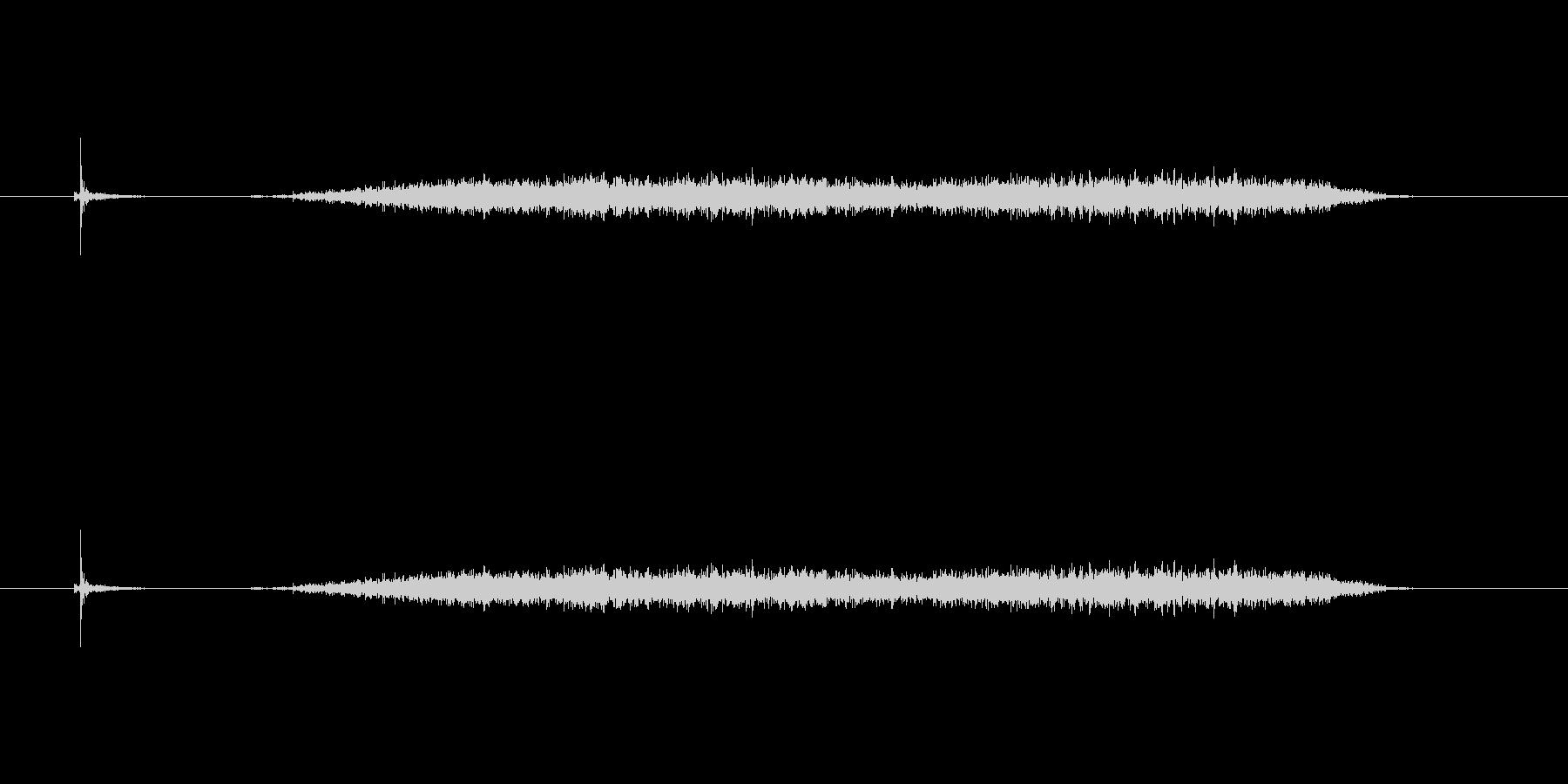 【カッター02-5(切る 紙)】の未再生の波形