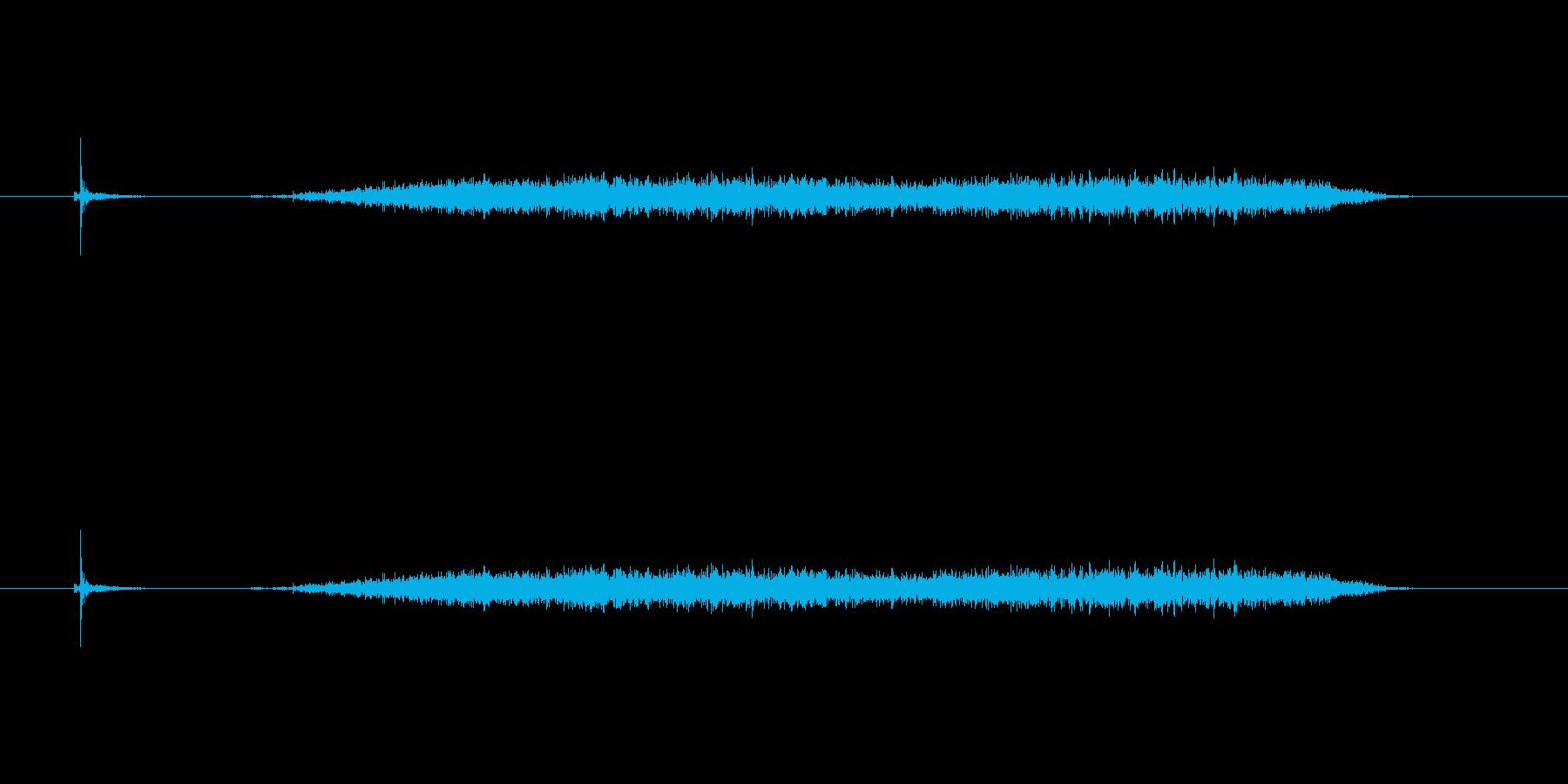 【カッター02-5(切る 紙)】の再生済みの波形