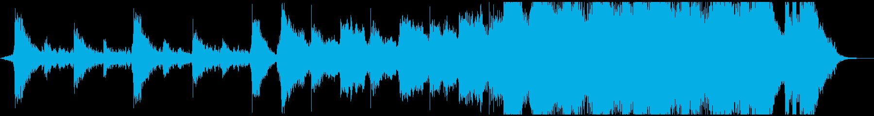 ハリウッド映画トレーラー風のエピックの再生済みの波形