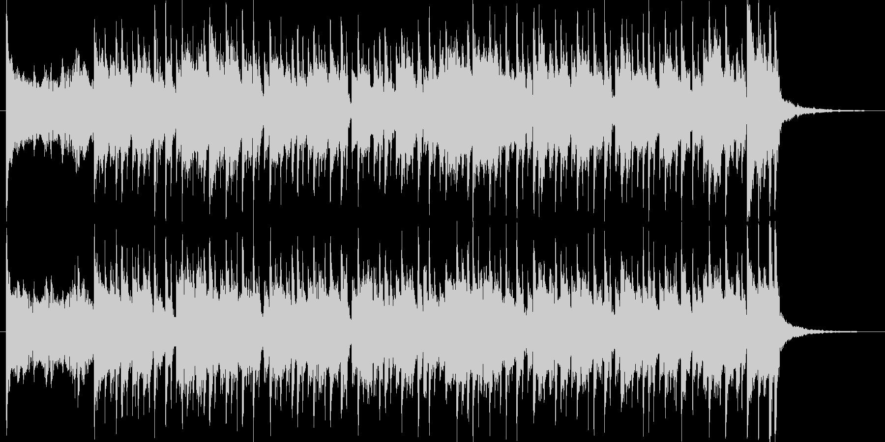 ルーズソックスの未再生の波形