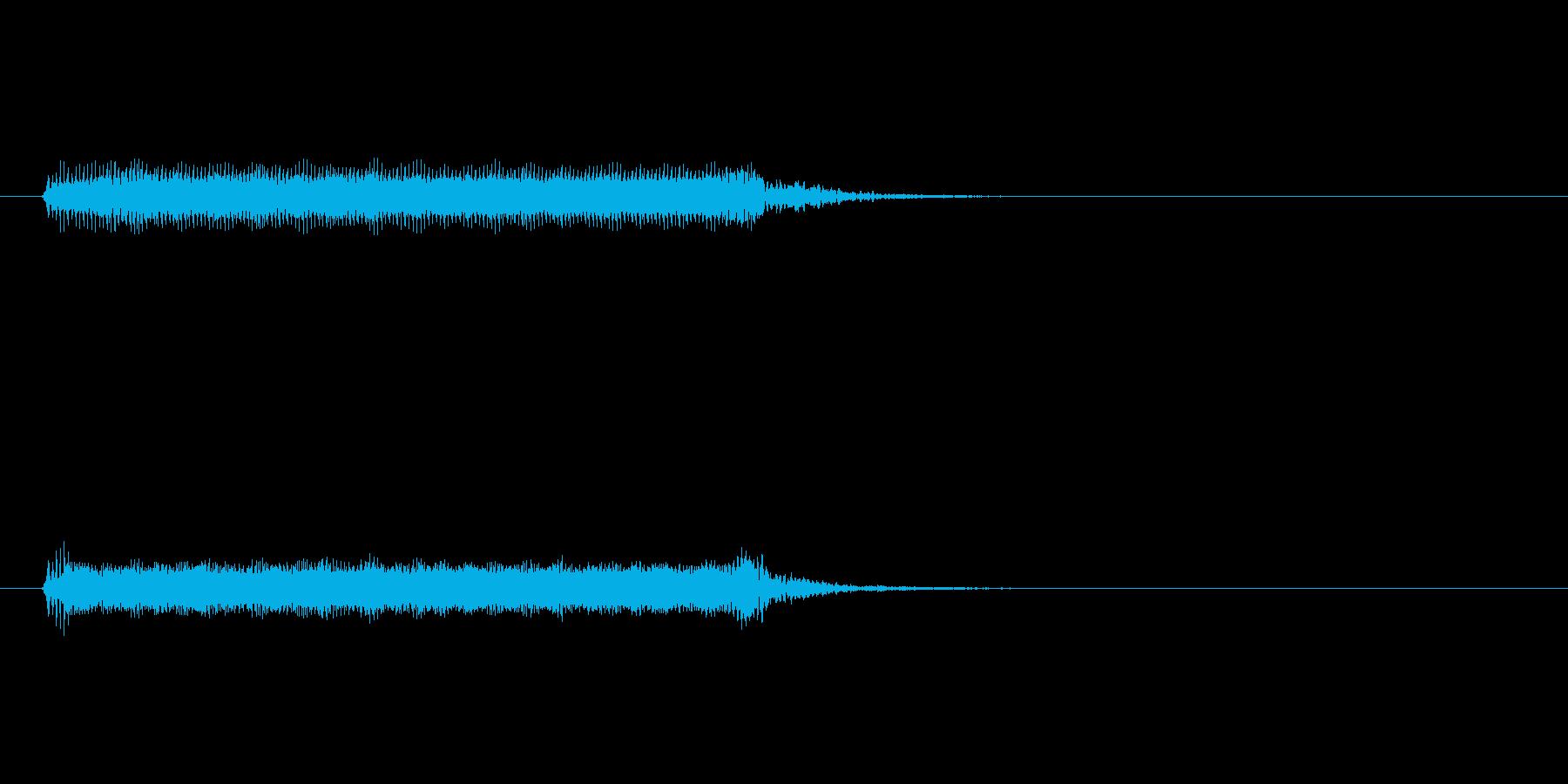【開演ブザー02-1】の再生済みの波形