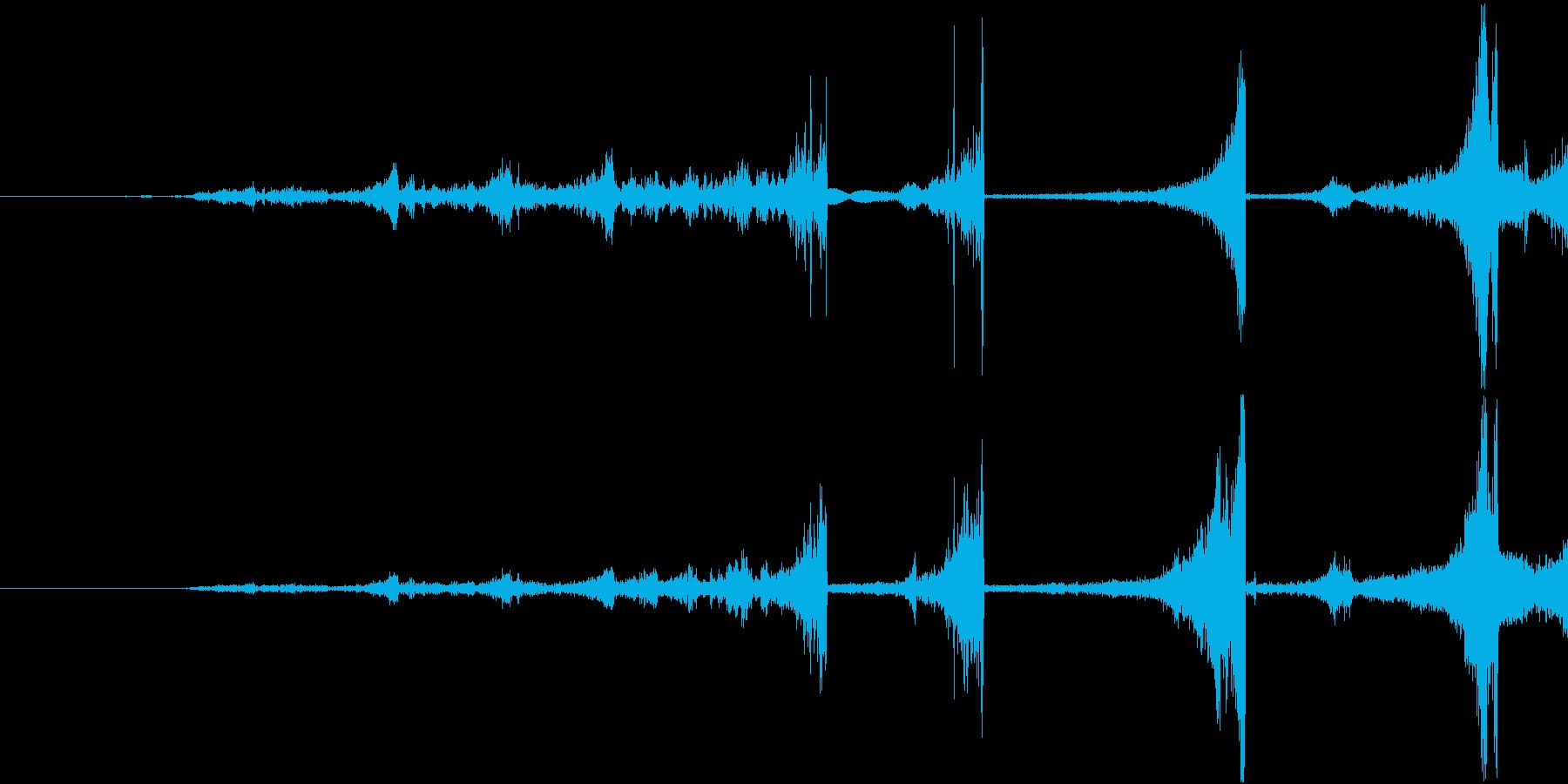 Zap 巻き戻し音・ザップ効果音 2の再生済みの波形