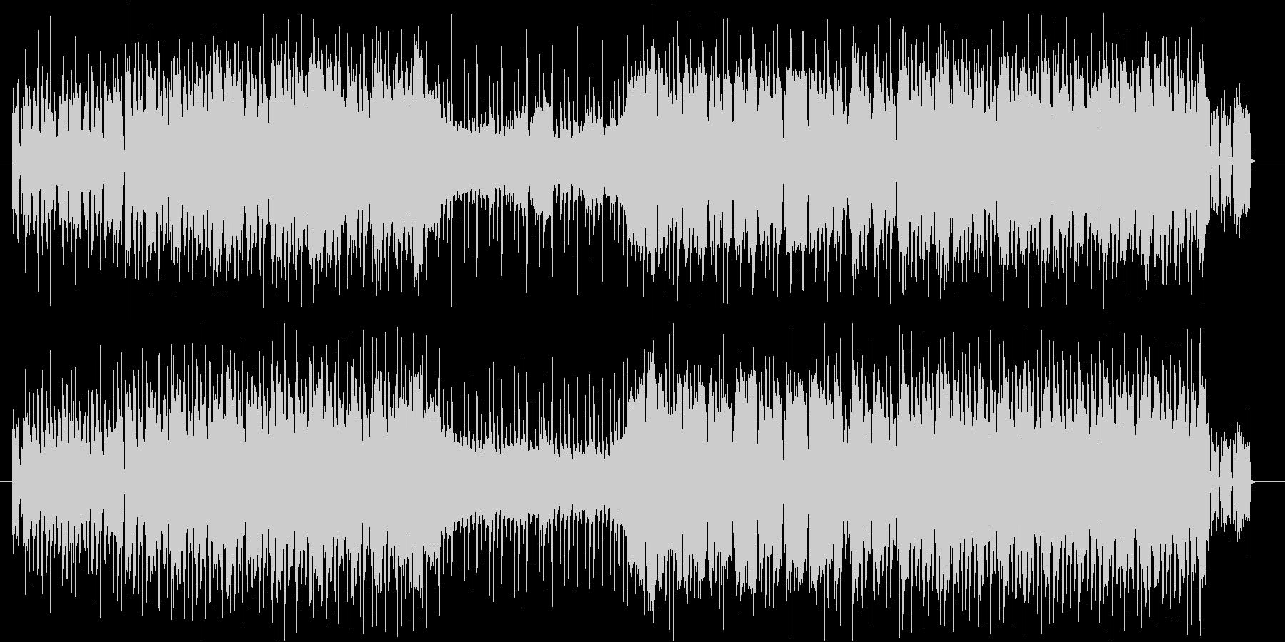ゆったりしたケルト調のポップスの未再生の波形