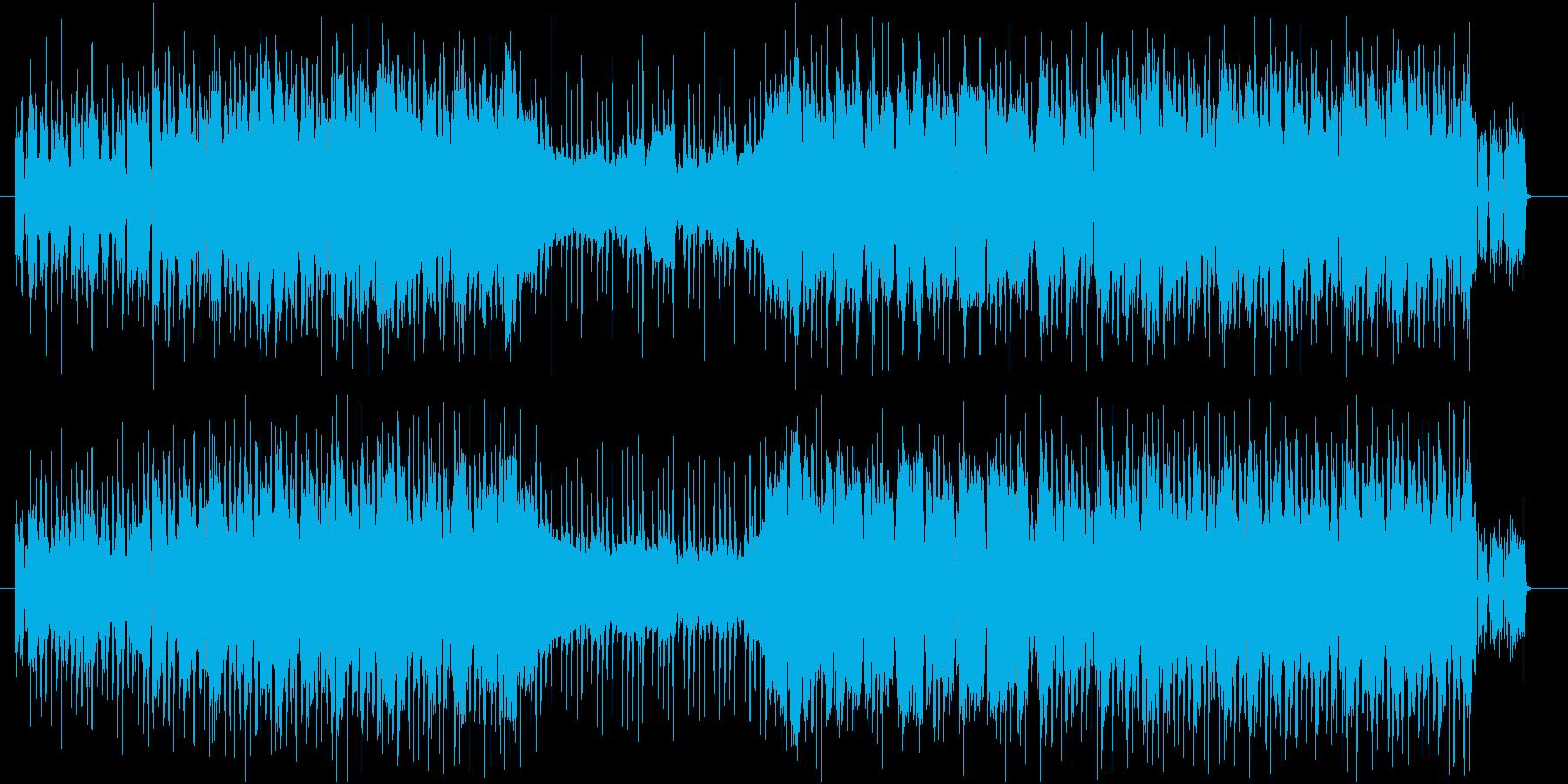 ゆったりしたケルト調のポップスの再生済みの波形
