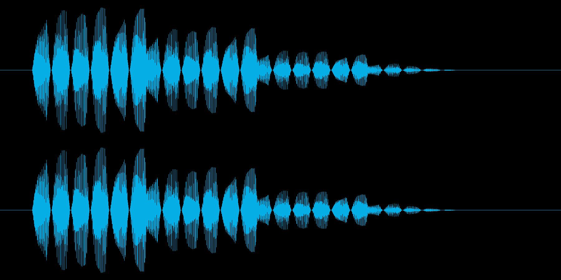 SNES 格闘05-11(選択)の再生済みの波形